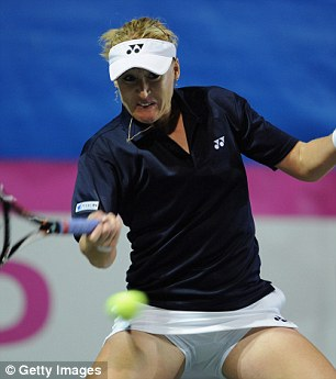 Paris meeting: Elena Baltacha
