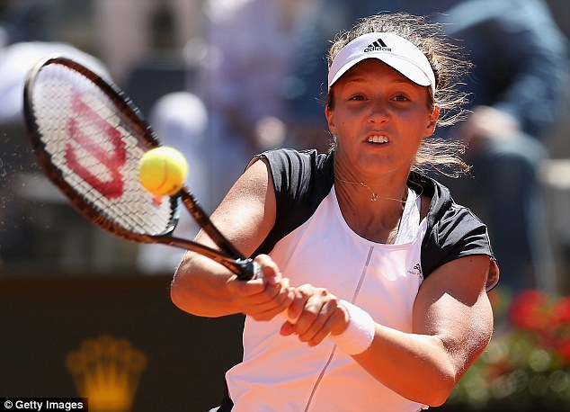 Tough start: Laura Robson will face Caroline Wozniacki in the first round of the French Open