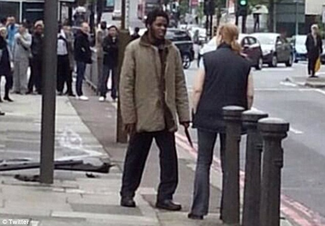 British citizen: The second attacker was named last night in reports as Michael Adebowale, 22