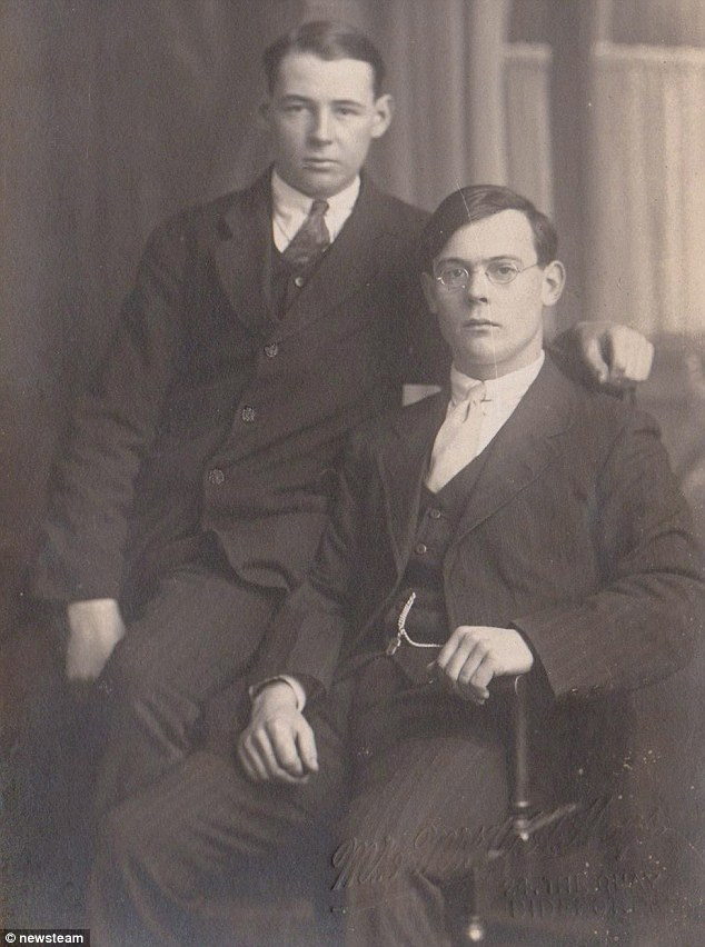 Family portrait: Sydney Cawsey (L) with older brother Jack (R).  The 13-year-old was a cook on the ship
