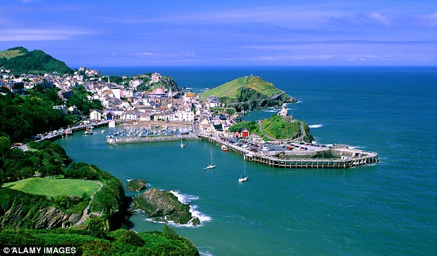The man who fell overboard is from Ilfracombe in Devon. He is now recovering in hospital
