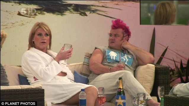 Fame: In 2011, Mrs Bercow defied opposition from her husband to take part in Celebrity Big Brother alongside celebrity photographer Darryn Lyons
