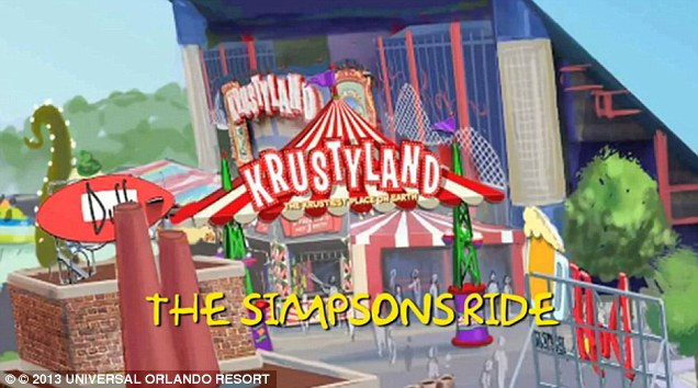 Main attraction: The Simpson's Ride allows guests to take a 3-D trip through Springfield. The ride opened in 2008 and the rest of Springfield has been constructed around it