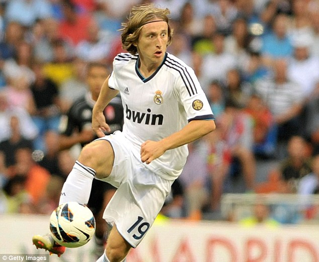 Disappointing: Modric's time in Madrid has been tough, but Mourinho has always liked the Croatian