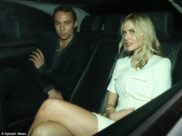Family bonds: Donna Air has grown close to Pippa since she started dating her brother James
