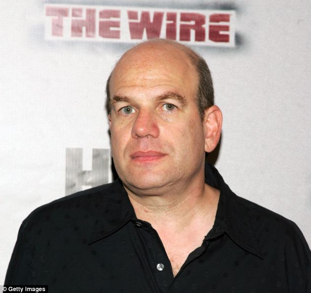Drugs debate: Producer David Simon at the premiere of HBO's The Wire in 2006 in New York City. The thought-provoking series went on to be a massive hit