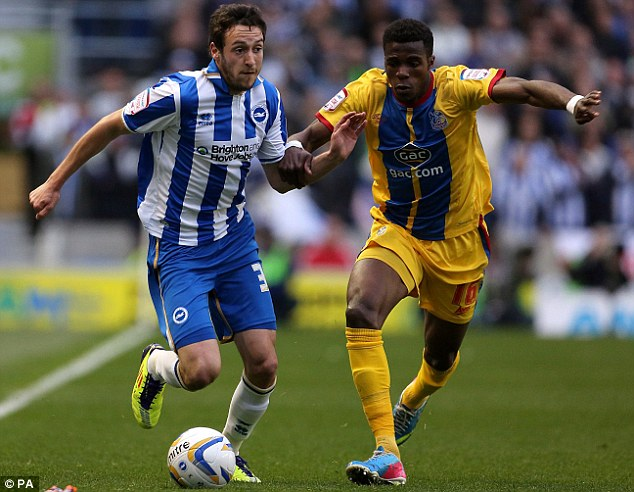 Talented: Will Buckley has been one of Brighton's best players over the last two seasons