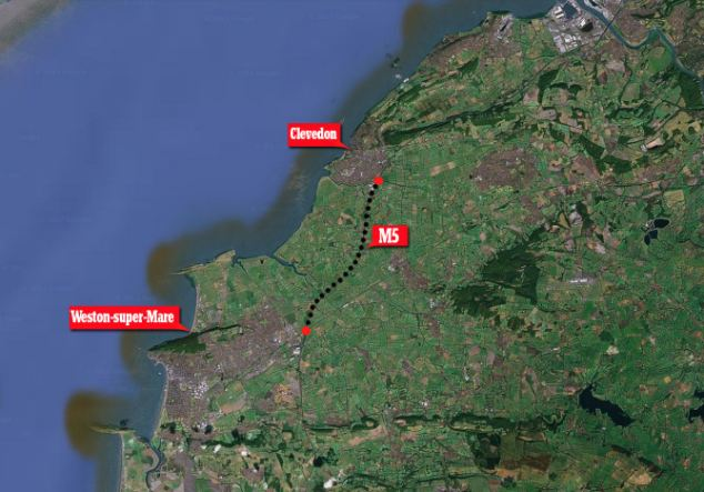 The motorway, a busy tourist route, was closed until 7.30am following the fatal crash