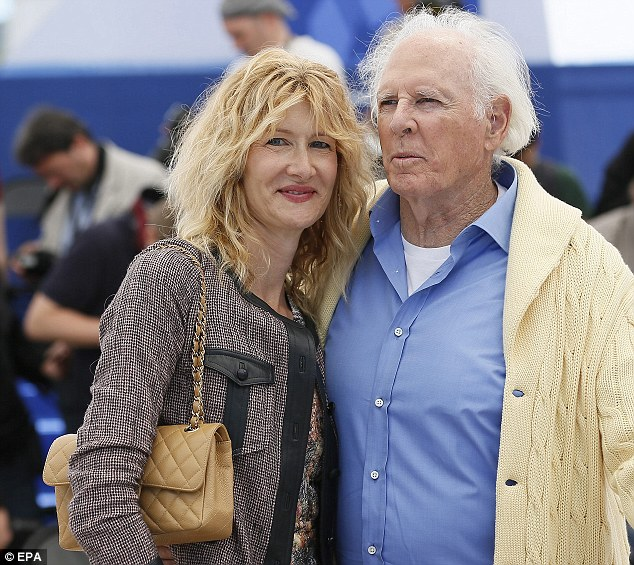 Veteran Hollywood actor Bruce Dern took the best actor trophy for his role in Bebraska (pictured here earlier in the week)