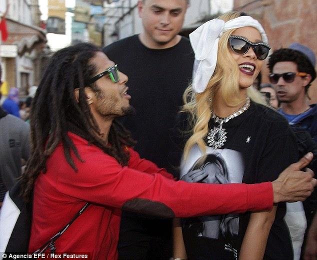 Rihanna in Morocco