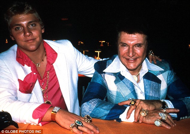 Doomed to fail: Thorson and Liberace in 1982, Scott's memoir, Behind the Candelabra, forms the basis for the movie