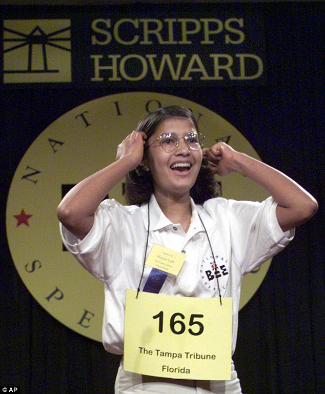 Nupur Lala won the National Spelling Bee at age 14 in 1999. She became famous after she was featured in the 2002 Oscar-winning documentary on the bee 'Spellbound'