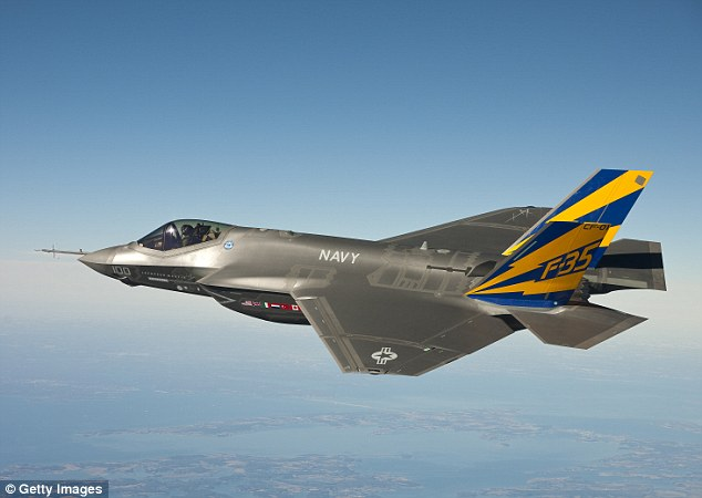 Chinese hackers stole plans for confidential United States weapons systems including the F-35 Joint Strike Fighter pictured here
