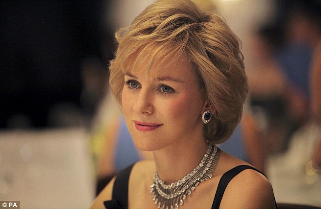 Gala opening: Naomi Watts's Princess Diana biopic will open in London on September 5th - just days after the sixteenth anniversary of the late royal's death