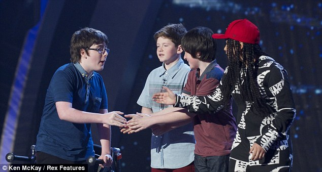 Other young acts on BGT include (left to right) comedian Jack Carroll, singers Jack and Cormac and singer Gabz
