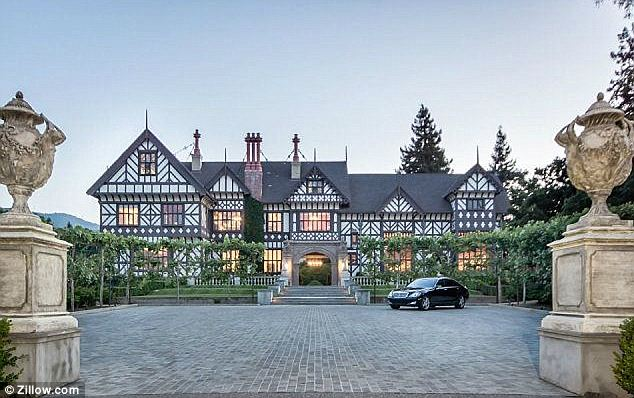 Mansion: The Morgan Estate was built in 1914 by Percy Morgan who moved from England to California