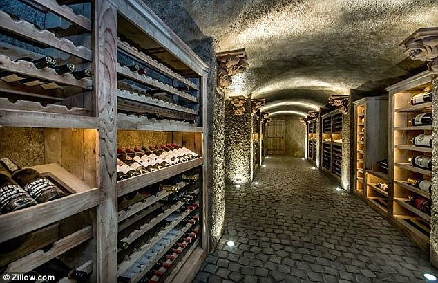 Hobby: The original owner Percy Morgan was the founder of the California Wine Association so it comes as little surprise that a large wine cellar was involved in the layout