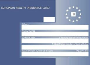 The European Health Insurance Card (EHIC) is meant to guarantee free or reduced healthcare in Europe