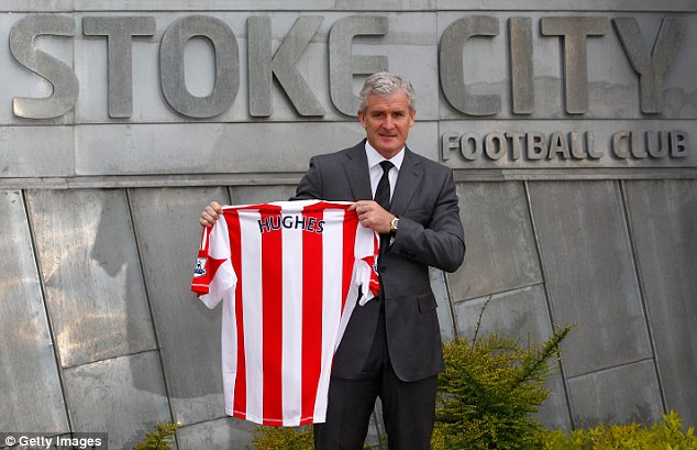 Time to shine? Hughes takes over at Stoke after a disastrous spell at QPR