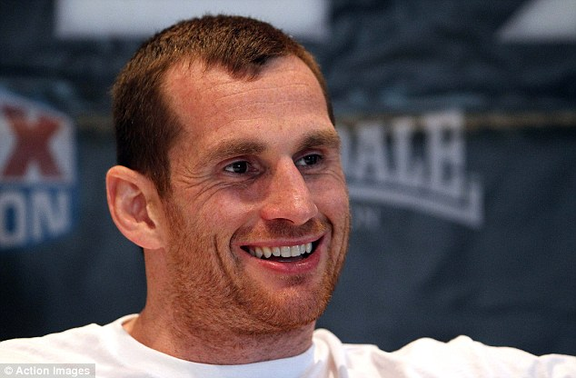 All smiles: David Price is confident he can avenge his defeat to Tony Thompson when the pair meet in July