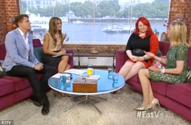The heated scene on today's This Morning