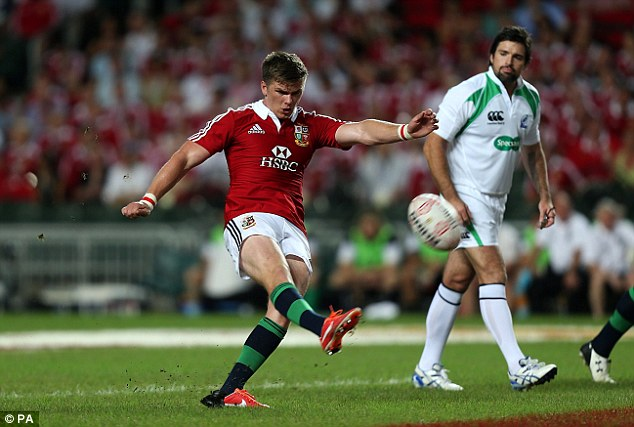 Fiery Farrell: His temperament is a problem, but there's no doubting his composure when it comes to kicking
