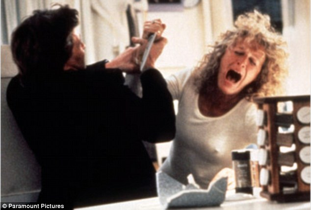 Bunny boiler: One interpretation of the bizarre hand-written note is that the writer is displaying all the psychotic tendencies of Glenn Close's character in Fatal Attraction