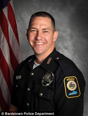 Targeted: Husband and father of two, Ellis, 33, was a minor league baseball player turned drug enforcement officer. He was killed with multiple gunshot blasts May 25 after what police say was a planned ambush