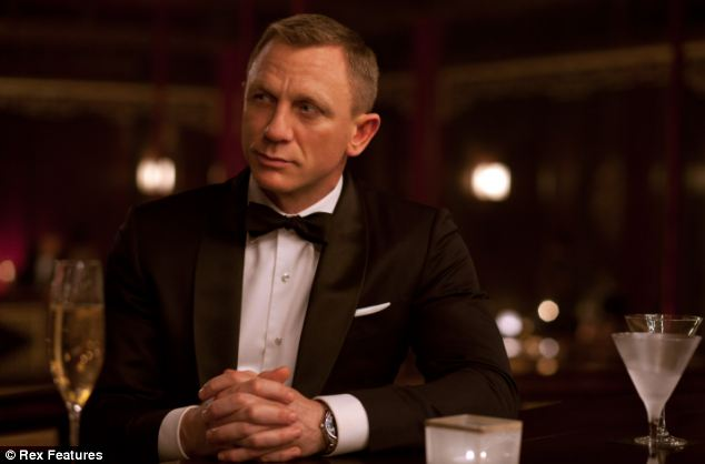 The last film, Skyfall, starred Daniel Craig as James Bond who is 45 himself
