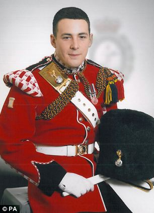 Drummer Lee Rigby who was killed near Woolwich barracks in south east London