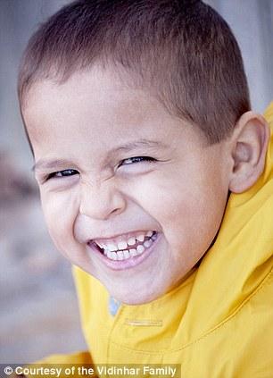 4-year-old Benjie Vidinhar