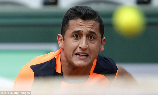Terrified: Almagro grimaces as he seems his dream fall away
