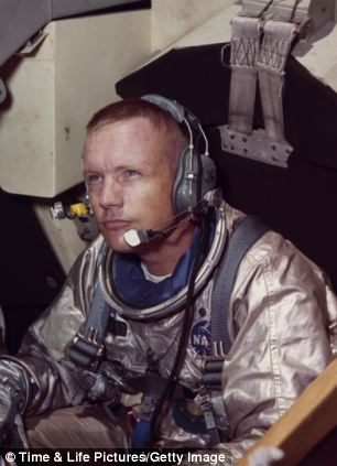 Neil Armstrong commander of Apollo 11 mission to the moon.