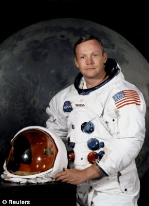 US astronaut Neil Armstrong always stood by the fact he said 'for a' and not 'for' in his famous moon landing quote from the Apollo 11 mission in 1969
