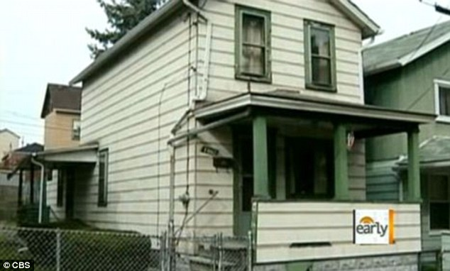 Tanya was kept captive inside this house for ten years where she was confined to one room and forced to use a bucket as a toilet