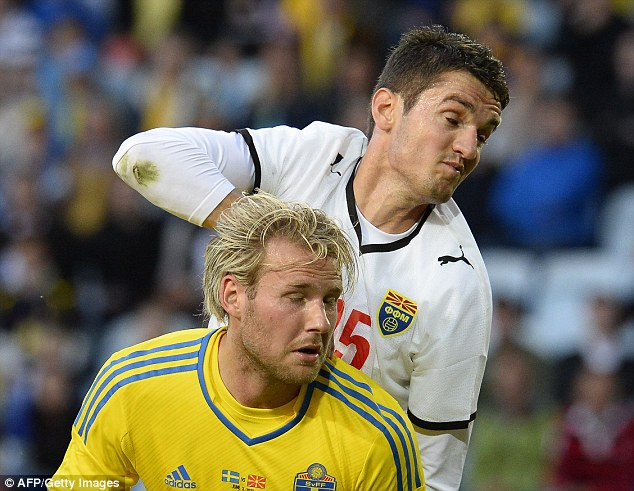 Prolific: West Brom are chasing Sweden and PSV forward Ola Toivonen