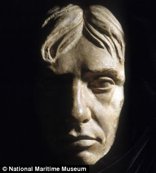Life mask of Vice-Admiral Horatio Nelson, maker unknown
