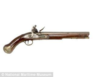 Sea Service pistol circa 1790