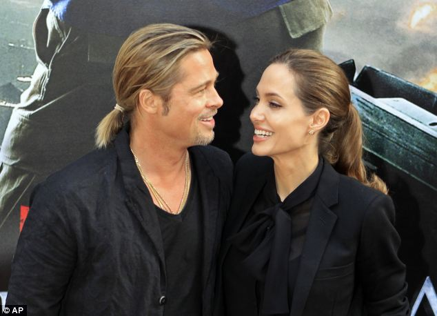 Angelina Jolie made her first public appearance following her announcement