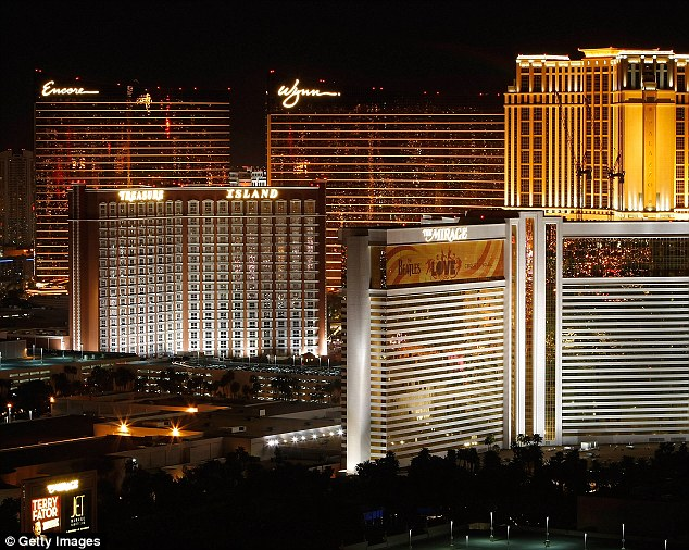 The Encore is a prominent sight on the Las Vegas strip. It is owned by billionaire casino magnate Steve Wynn