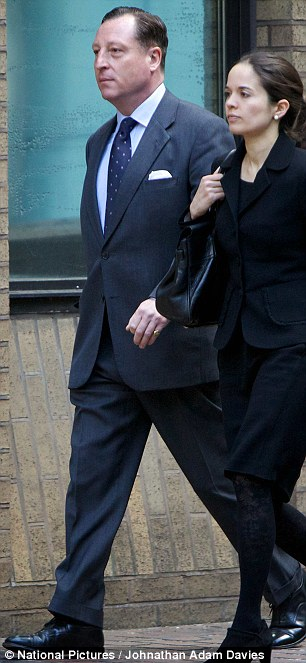 Neville Thurlbeck arrives at court