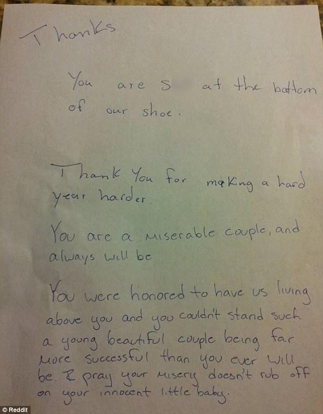 Bobbi's letter