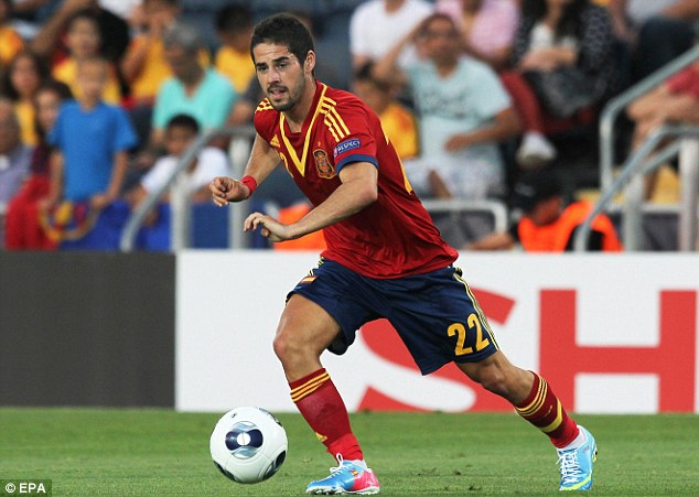 Target: Manchester City target Isco didn't have much of an impact