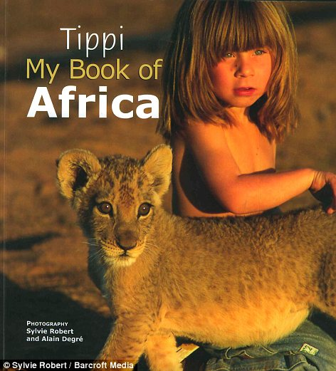 Out now: A book describing Tippi's adventures has just been published worldwide for the first time
