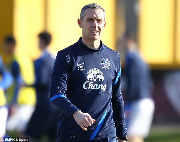 Impressive: Everton coach David Weir
