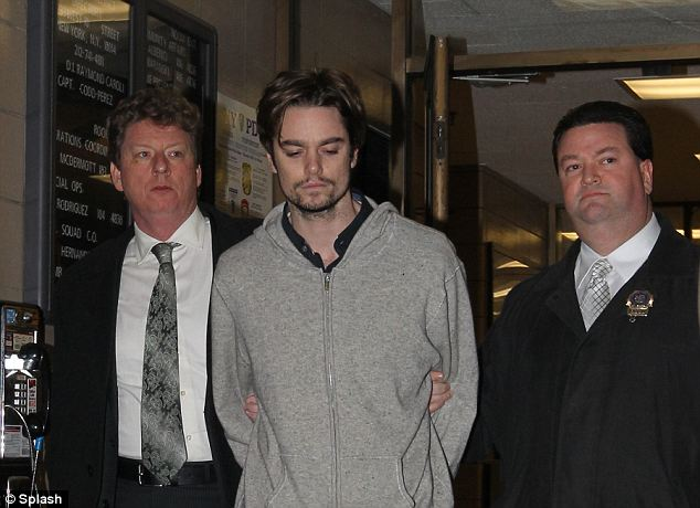 Heir apparent? Brooks, seen here just after his 2010 arrest, was the son of Joseph Brooks, who won an Oscar for the 1977 hit 'You Light Up My Life,' but who killed himself in 2009 before he could stand trial for multiple sex crimes