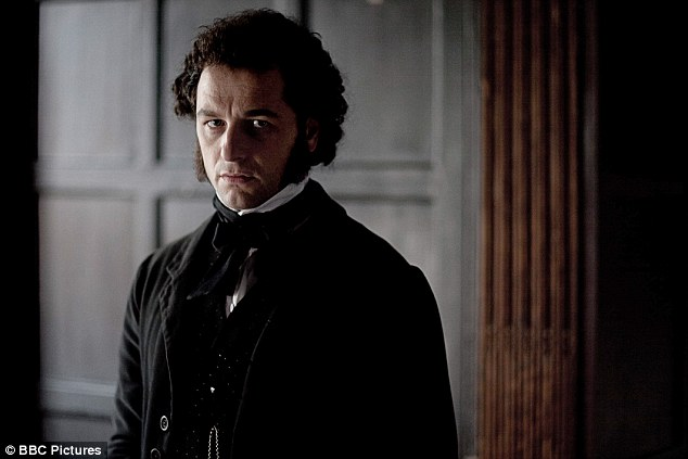 The new Darcy: Matthew Rhys, pictured as John Jasper in the BBC drama The Mystery of Edwin Drood, will play Mr Darcy in the BBC adaptation of P.D. James's sequel to Pride and Prejudice, Death Comes To Pemberley