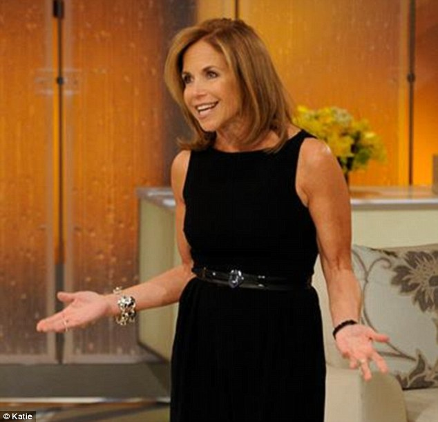 Veteran: Before her own eponymous show, Katie Couric was a co-host on the hugely popular Today Show, and a respected news anchor for CBS