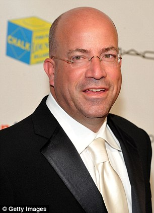 Abandoned ship: Jeff Zucker left 'Katie' soon after its launch to become the worldwide president of CNN