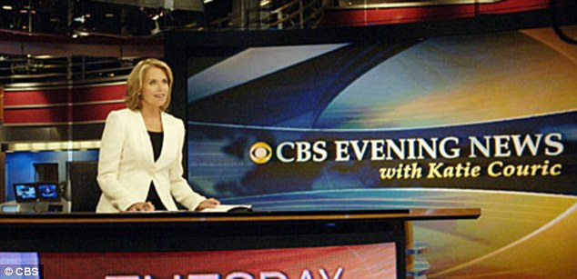 Anchor: Couric became a CBS Evening News anchor in 2006 and interviewed high-profile guests and world leaders including Bill Gates, President Barack Obama and Hillary Clinton